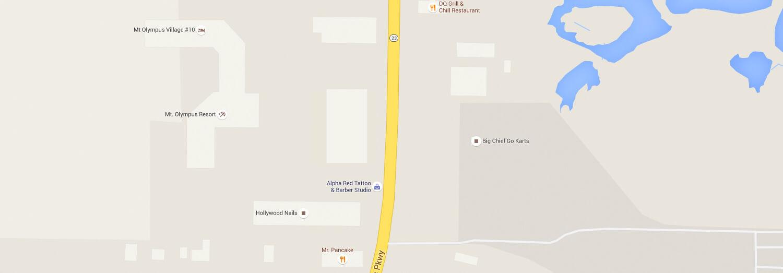 Pizza Pub static map located in Wisconsin Dells