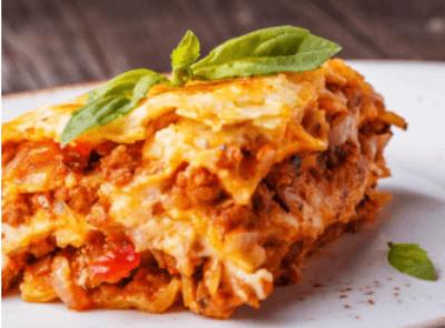 Pizza Pub lasagna